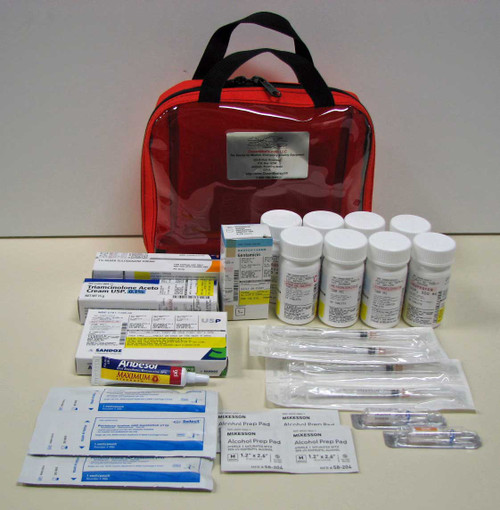 OceanMedix - Global Traveler Prescription Medications Kit