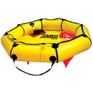 Revere Aero Compact Liferaft, 2-Person, deployed
