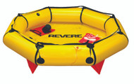 Revere Coastal Compact Liferaft, 2-Person, Valise, without Canopy (optional)