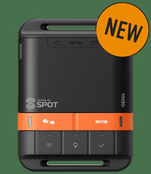 SPOT GEN4 - Satellite GPS Messenger - face - NEW