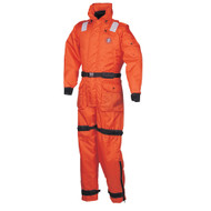 Mustang Deluxe Anti-Exposure Coverall and Work Suite - orange