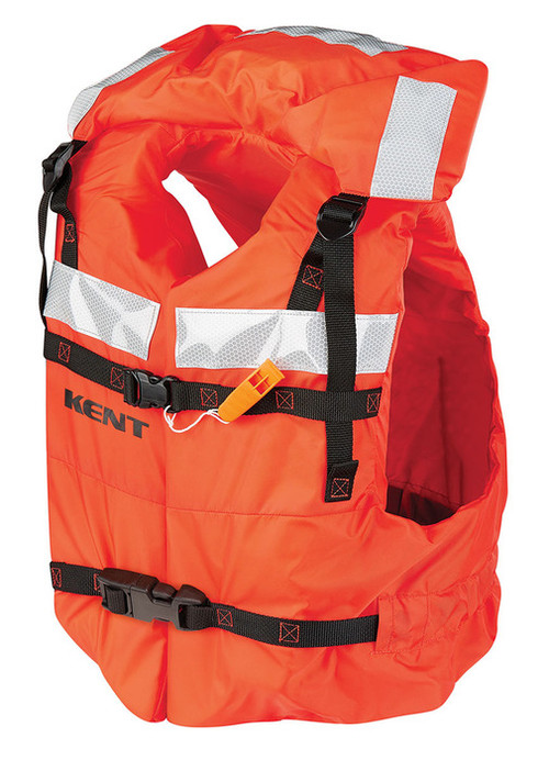 Kent - Type 1 Commercial Life Jacket - Vest Style - Universal Adult