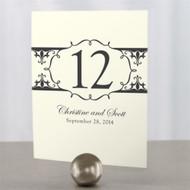 Fleur De Lis Water Table Number Cards (Set of 12)