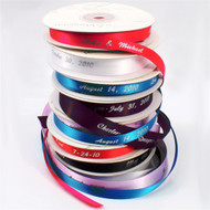 Personalized Ribbon in a Variety of Colors