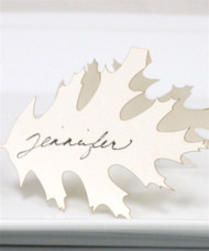 Laser Expressions Leaf Folded Place Card (Set of 4)