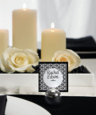 Round Place Card Holder (Set of 8)