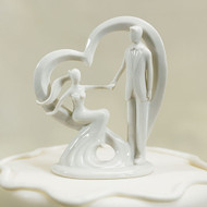 """Take My Hand"" Cake Topper"