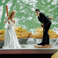 """Hit the Home Run"" Cake Topper"