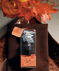 Leaf Wine Stopper in Gift Packaging