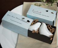 Love Bird Salt & Pepper Shakers in Gift Box