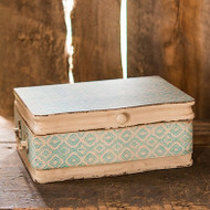 Vintage Inspired Wooden Wishing Well / Card Holder