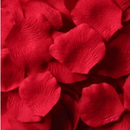 Red Silk Petals {Package of 100}