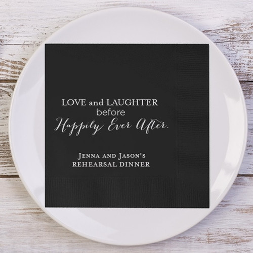 0e65c8c25f60 Love and Laughter Before Happily Ever After. Rehearsal Dinner ...