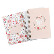 Floral Frame Gift Record Book for Bridal Shower