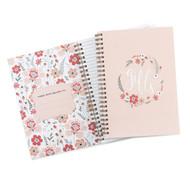 Floral Frame Gift Record Book for Bridal Shower
