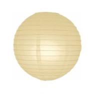 Ivory Beige Round Paper Lantern