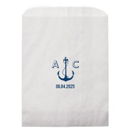 Nautical Anchor Personalized Candy Bag