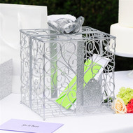 Reception Card Holder in Silver