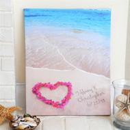 Ocean Waves of Love Gallery Wrapped Canvas