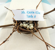 Miniature Birds Nest Vine Place Card Holder