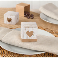 Rustic Birch Favor Box Kit (Set of 24)