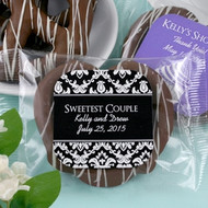 Gourmet Chocolate Covered Pretzel Favor | Silhouette Collection