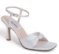 """Love Knot"" Satin Sandal"