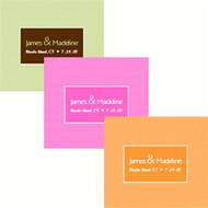 Modern Rectangular Personalized Labels