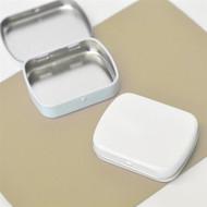 DIY White Mint Tins