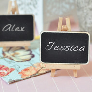 Chalkboard Place Card with Easel