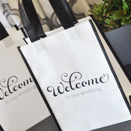 Re-Useable Wedding Welcome Tote Bag