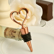 Vintage One Heart, One Love Bottle Stopper