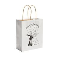 Happy Couple Wedding Welcome Paper Gift Bag