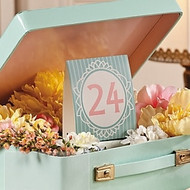 Vintage Style Table Number Cards (1-24)