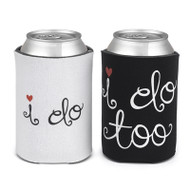 """I do"" and ""I do too"" Can Cozy Set"