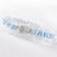 Glittering Beads Garter