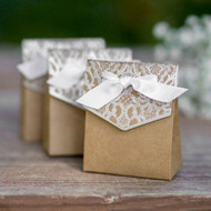 Naturally Vintage Tent Favor Box {Set of 25}