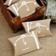 Rustic Love Bird Personalized Favor Box (Set of 50)