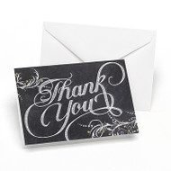 Whimsical Chalkboard Thank You Cards (Set of 50)