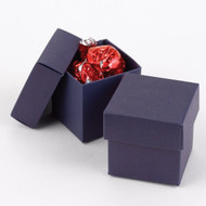 DIY Navy Blue Two-Piece Favor Box (Set of 25)