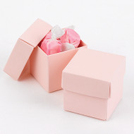 DIY Blush Pink Two-Piece Favor Box (Set of 25)
