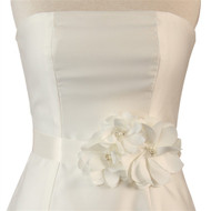 Water Lily Bridal Sash
