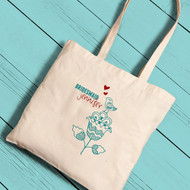Lovely Day Bridesmaid Tote Bag