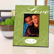 Personalized Green Love Picture Frame