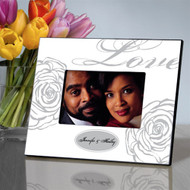 Personalized White Love Picture Frame