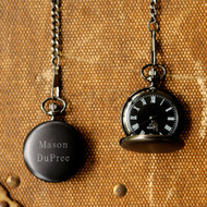 Personalized Midnight Pocket Watch JDS-GC938