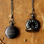 Personalized Midnight Pocket Watch JDS-GC938