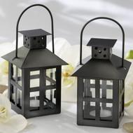 Luminous Black Mini-Lantern