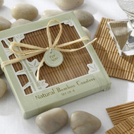 Natural Bamboo Eco-Friendly Coasters