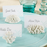 """Seven Seas"" Coral Place Card Holders {Set of 6}"